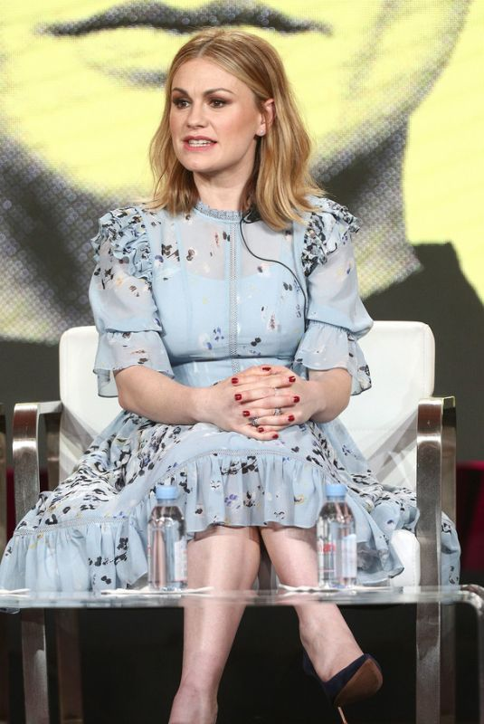 ANNA PAQUIN at 2019 Winter TCA Tour in Pasadena 01/30/2019
