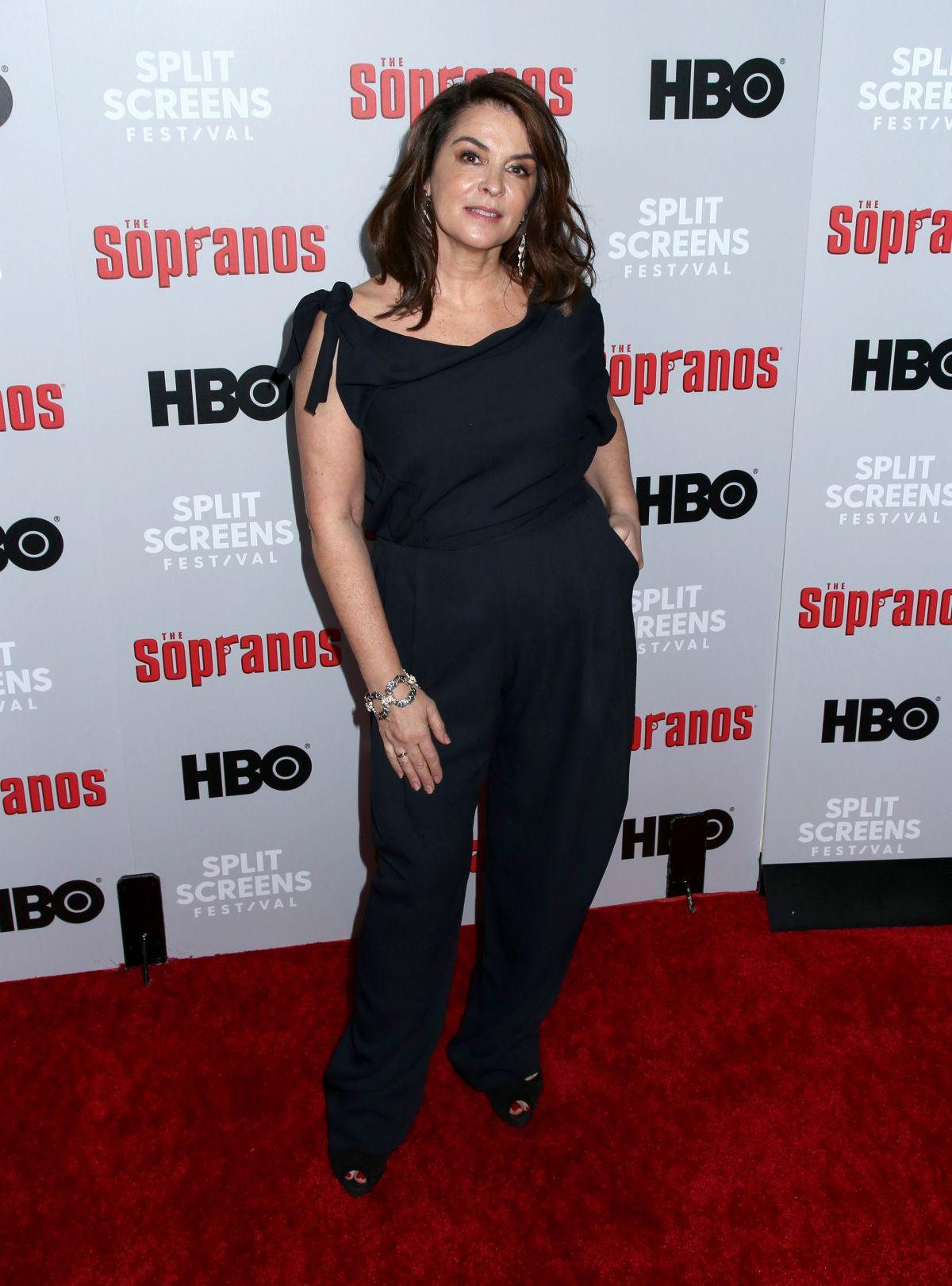 ANNABELLA SCIORRA at The Sopranos 20th Anniversary Panel ...