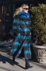 ANNABELLE WALLIS Leaves Bowery Hotel in New York 01/22/2019