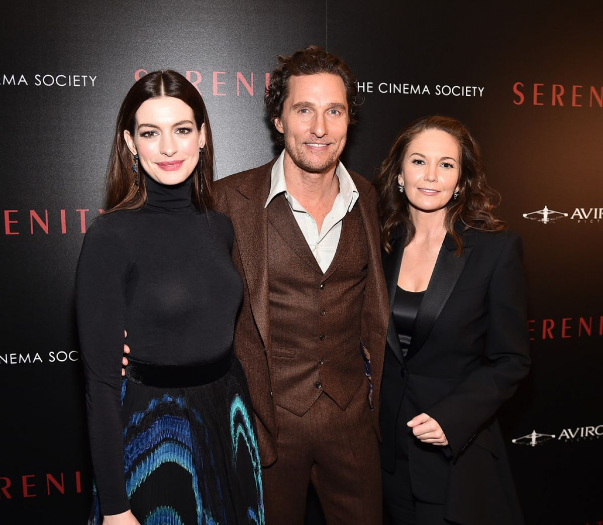 ANNE HATHAWAY And DIANE LANE At Serenity Screening In New