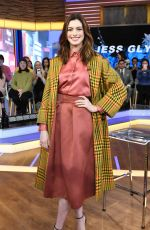 ANNE HATHAWAY at Good Morning America 01//23/2019