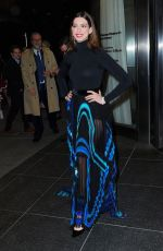 ANNE HATHAWAY Heading to Serenity Premiere in New York 01/23/2019
