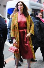 ANNE HATHAWAY Out and About in New York 01/22/2019