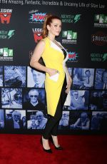ANNIE WERSCHING at Stan Lee Tribute in Hollywood 01/30/2019