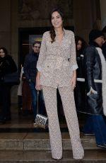 ANOUCHKA DELON at Elie Saab Show at Paris Fashion Week 01/23/2019
