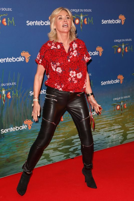 ANTHEA TURNER at Cirque Du Soleil Totem 10th Anniversary Premiere in London 01/16/2019