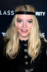 ANYA TAYLOR-JOY at Glass Premiere in London 01/09/2019