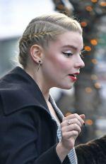 ANYA TAYLOR-JOY Out and About in New York 01/15/2019
