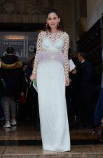 ARAYA HARGATE at Elie Saab Fashion Show in Paris 01/23/2019