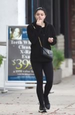 ARIEL WINTER Out and About in Los Angeles 01/11/2019