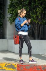 ARIELLE KEBBEL Out in Beverly Hills 01/11/2019