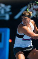ARYNA SABALENKA at 2019 Australian Open at Melbourne Park 01/14/2019