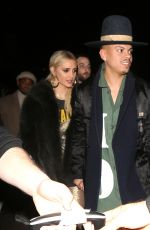 ASHLEE SIMPSON and Evan Ross Leaves Roxy Theatre in West Hollywood 01/18/2019