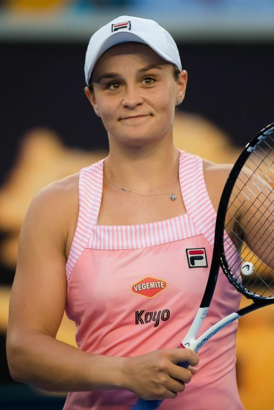 ASHLEIGH BARTY at 2019 Australian Open at Melbourne Park 01/14/2019