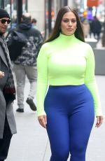 ASHLEY GRAHAM Arrives at Today Show in New York 01/09/2019