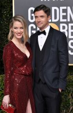 ASHLEY HINSHAW at 2019 Golden Globe Awards in Beverly Hills 01/06/2019