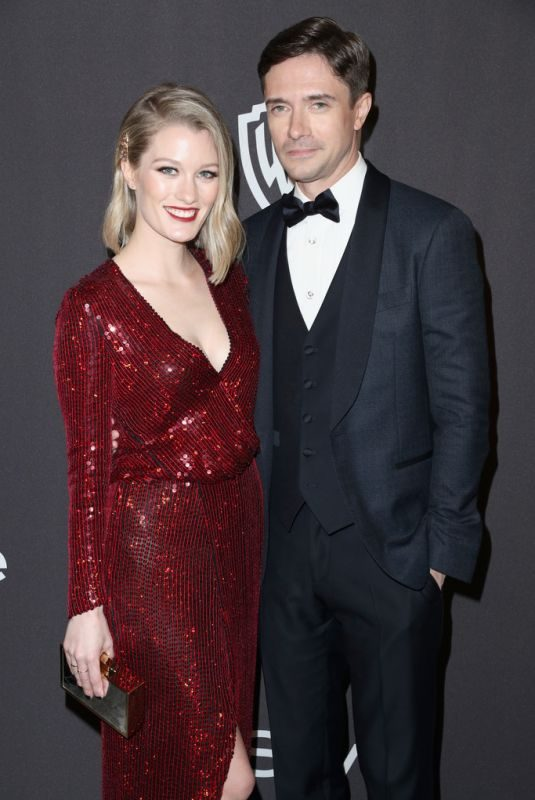 ASHLEY HINSHAW at Instyle and Warner Bros Golden Globe Awards Afterparty in Beverly Hills 01/06/2019