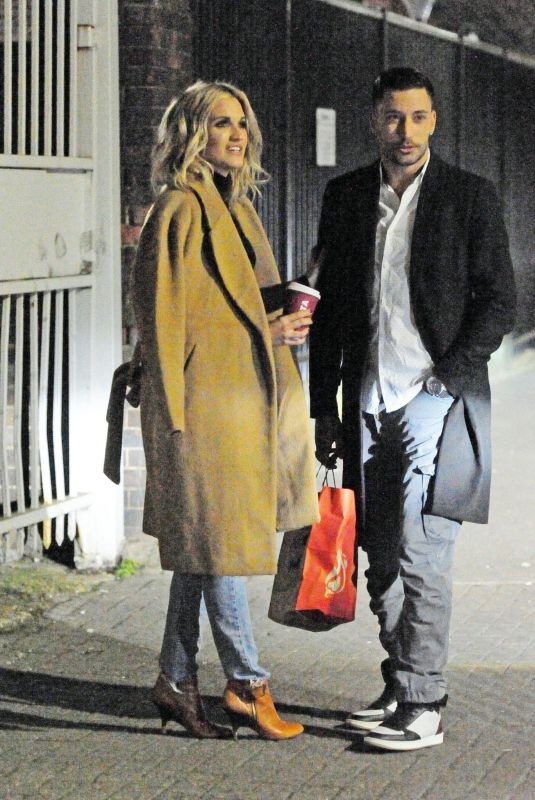 ASHLEY ROBERTS and Giovanni Pernice Night Out in London 01/06/2019