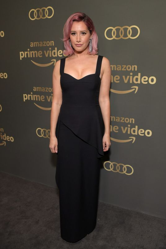 ASHLEY TISDALE at Amazon Prime Video Golden Globe Awards After Party in Beverly Hills 01/06/2019