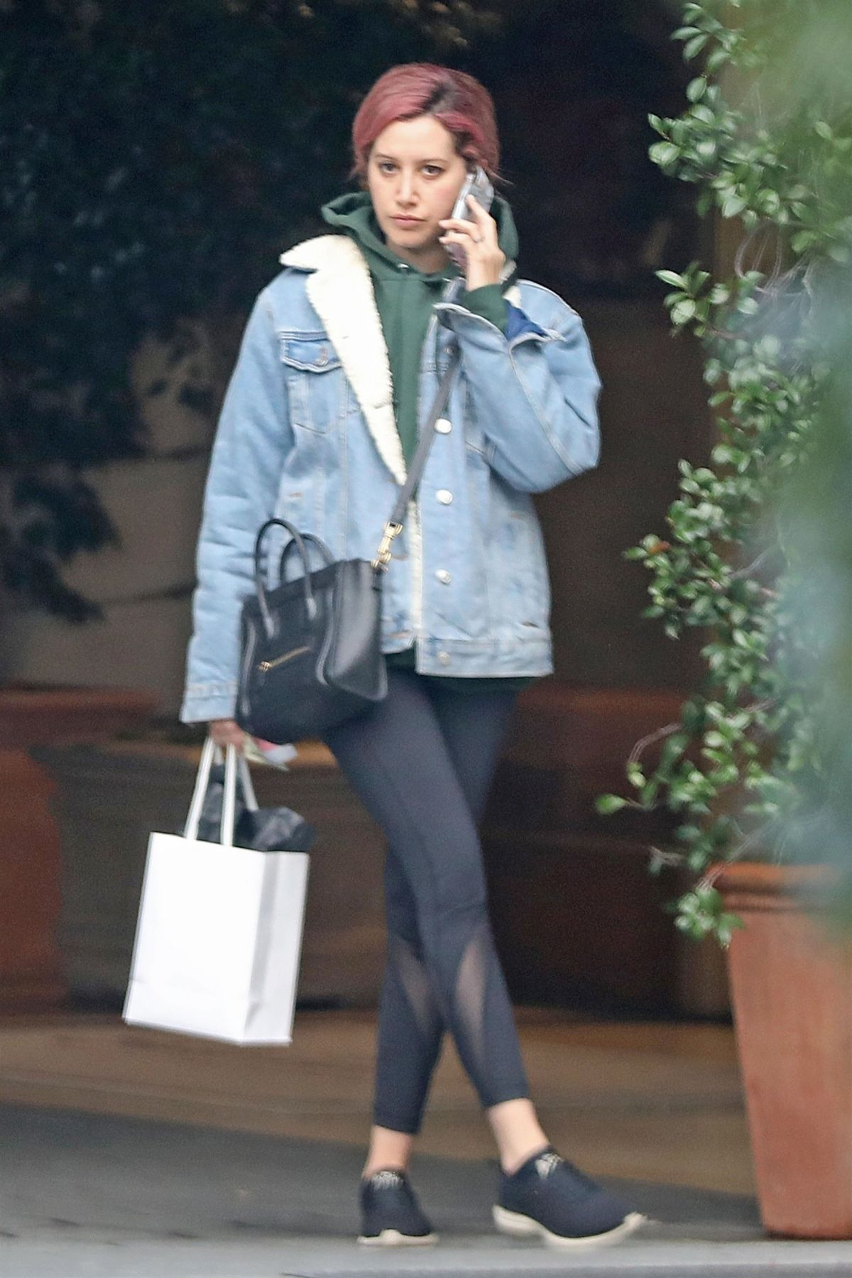 Ashley tisdale out in los angeles