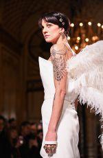 ASIA ARGENTO at Grimaldi Show at Paris Haute Couture Fashion Week 01/21/2019