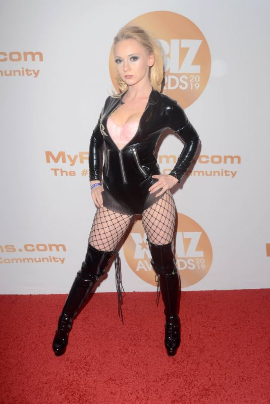 ATHENA RAE at 2019 Xbiz Awards in Los Angeles 01/17/2019