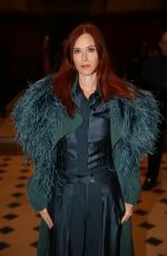 AUDREY FLEUROT at Julien Fournie Show at Paris Fashion Week 01/22/2019