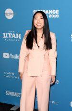 AWKWAFINA at Paradise Hills Premiere at Sundance Film Festival 01/26/2019