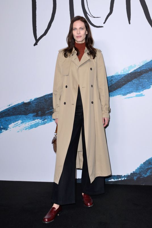 AYMELINE VALADE at Dior Homme Fashion Show at Paris Fashion Week 01/18/2019