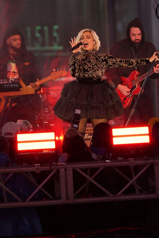 BEBE REXHA Performs on New Year