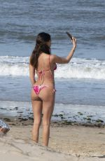 BELEN RODRIGUEZ in Bikini at Beach in Punta del Este 01/03/2019