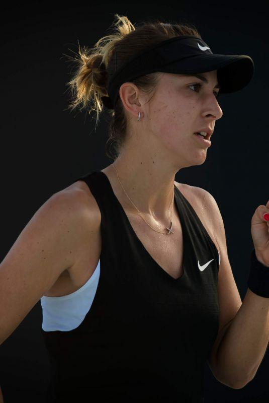 BELINDA BENCIC at 2019 Australian Open at Melbourne Park 01/14/2019