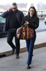 BELLA HADID Arrives at Airport in Milan 01/13/2019