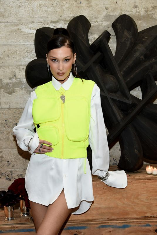 BELLA HADID at Louis Vuitton Dinner Mens SS19 Remporary Residency in New York 01/09/2019