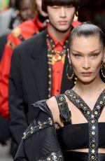 BELLA HADID at Versace Runway Show at Milan Fashion Week 01/12/2019