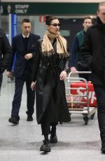BELLA HADID Out in Milan 01/12/2019