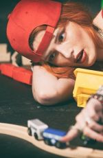 BELLA THORNE for Firetruck Lip Stain Promo, Janurary 2019
