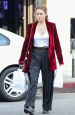 BETHANY JOY LENZ Out and About in Los Angeles 01/11/2019