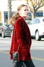 BETHANY JOY LENZ Takes Lunch To-go at Joan