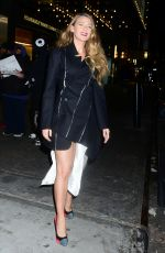 BLAKE LIVELY at Mary Poppins Private Reception in New York 01/10/2019