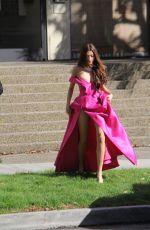 BLANCA BLANCO Heading to 2019 Golden Globe Awards in Beverly Hills 01/06/2019