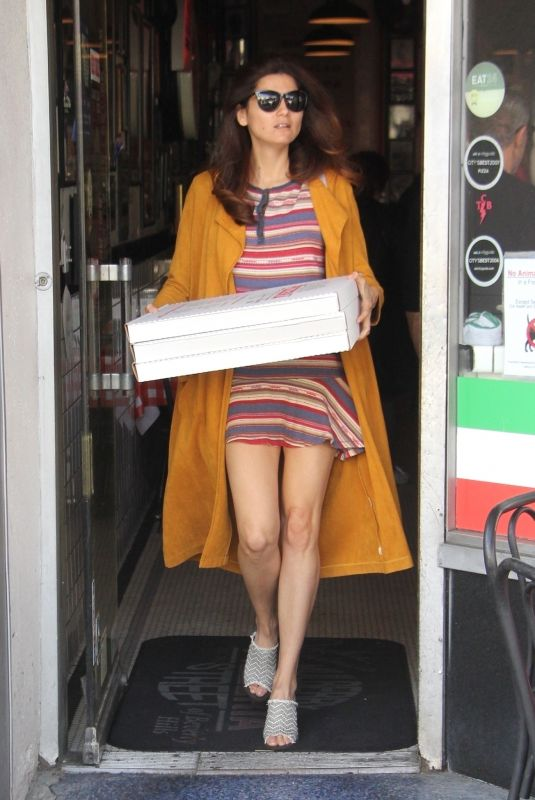 BLANCA BLANCO Out for Pizza in Los Angeles 01/18/2019