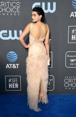 BRIANNA HILDEBRAND at 2019 Citics' Choice Awards in Santa Monica 01/13/2019