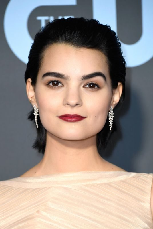 BRIANNA HILDEBRAND at 2019 Critics' Choice Awards in Santa Monica 01/13/2019