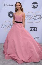 BRITT BARON at Screen Actors Guild Awards 2019 in Los Angeles 01/27/2019
