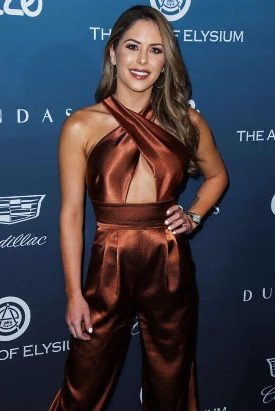 BRITTNEY PALMER at Art of Elysium's 12th Annual Celebration in Los Angeles 01/05/2019