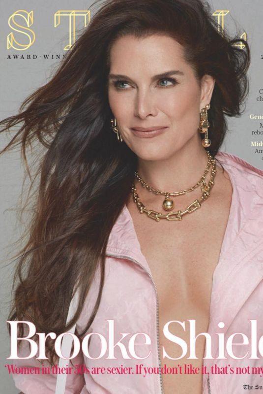 BROOKE SHIELDS in Stella Magazine, January 2019