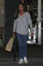 CAITLYN JENNER and SOPHIA HUTCHINS Out for Dinner in Malibu 01/27/2019