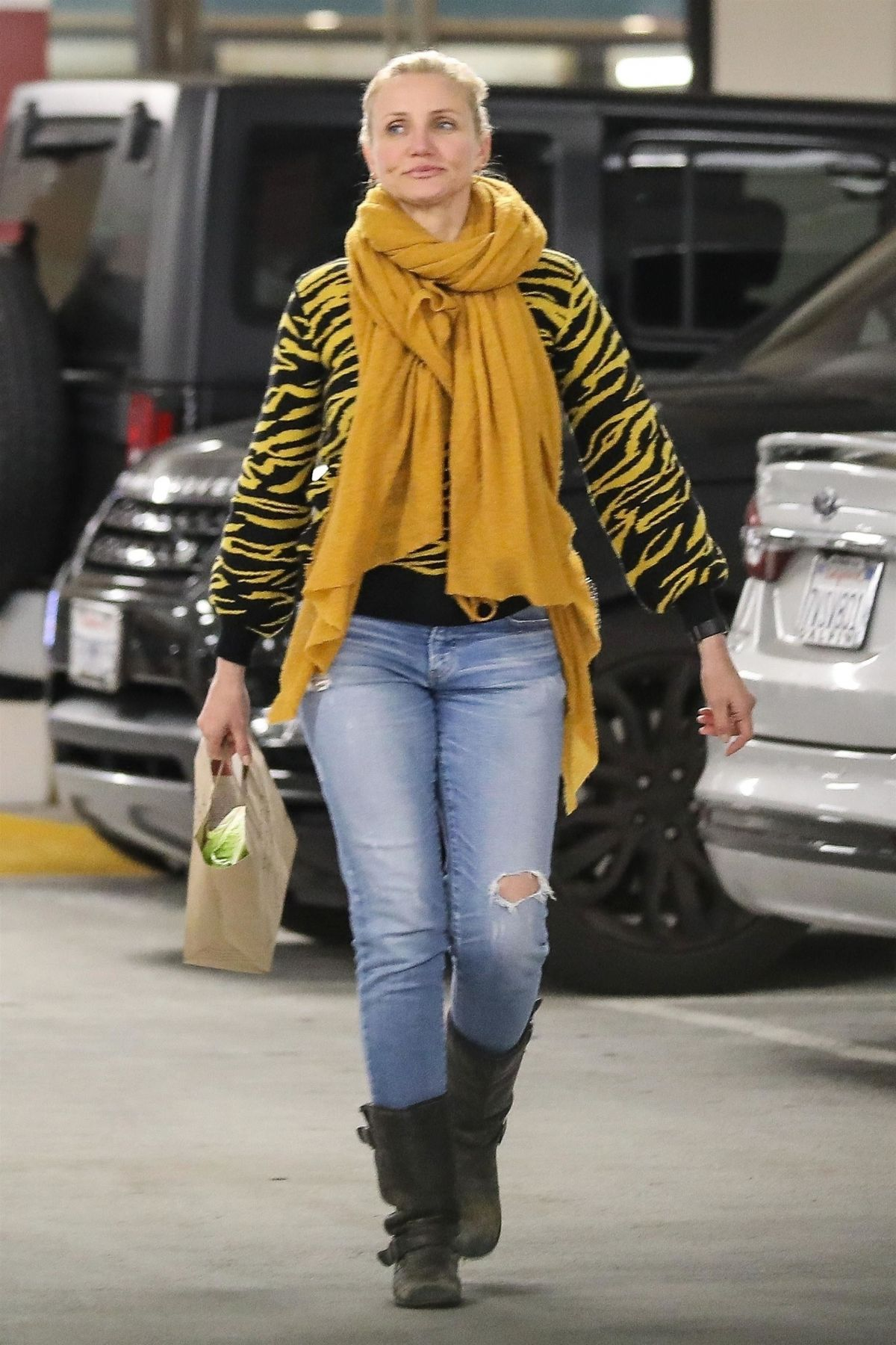 CAMERON DIAZ Out Shopping in Beverly Hills 01/23/2019 ...Cameron Diaz Net Worth 2019
