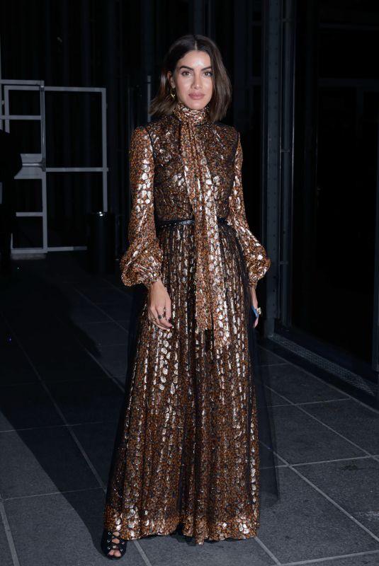 CAMILA COELHO at Giambattista Valli Fashion Show in Paris 01/21/2019